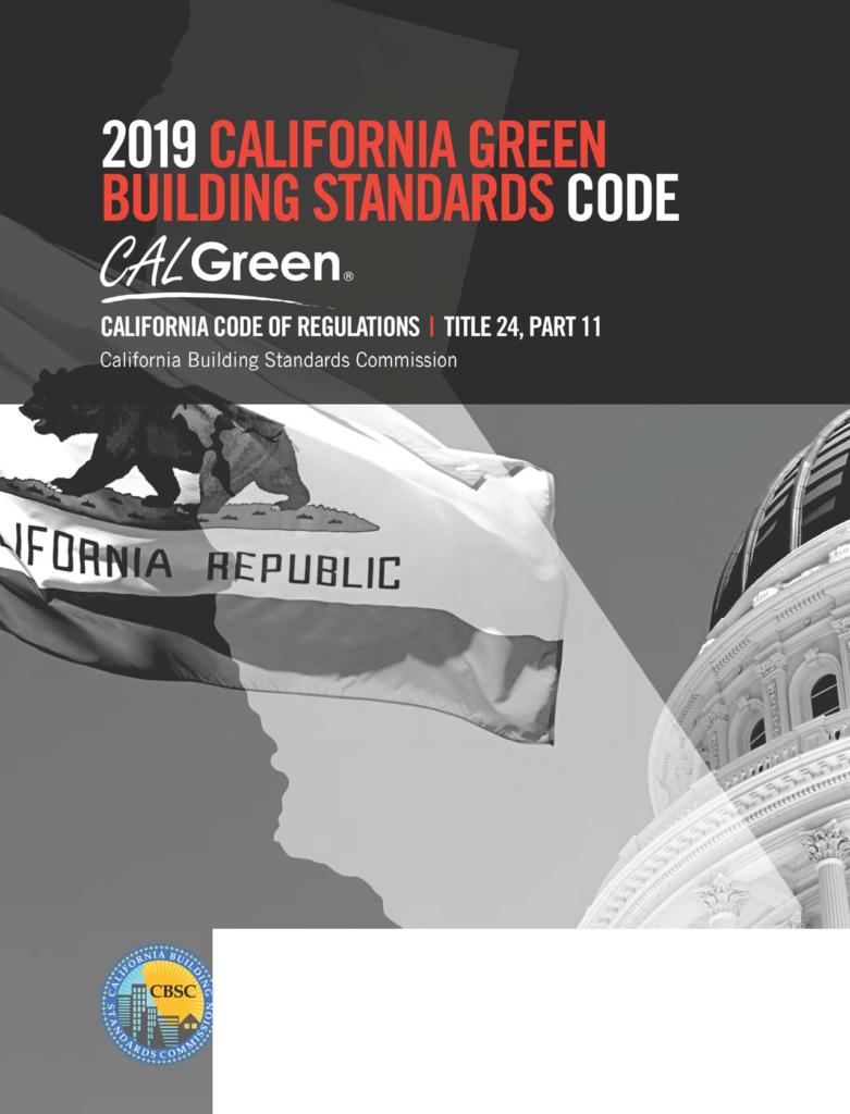 2019 CAL Green Code
