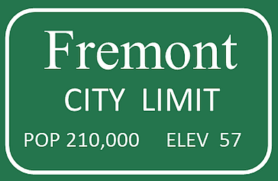 Fremont City Limit