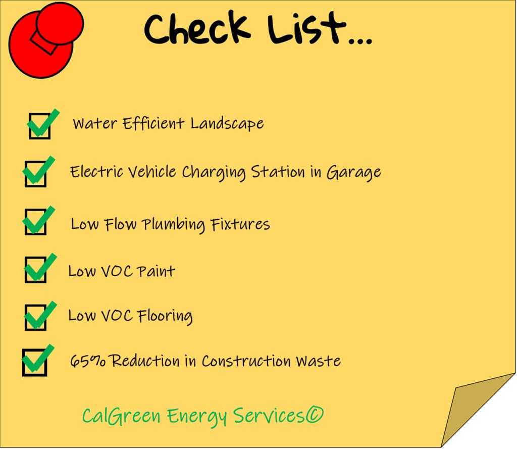 Cal Green Checklist