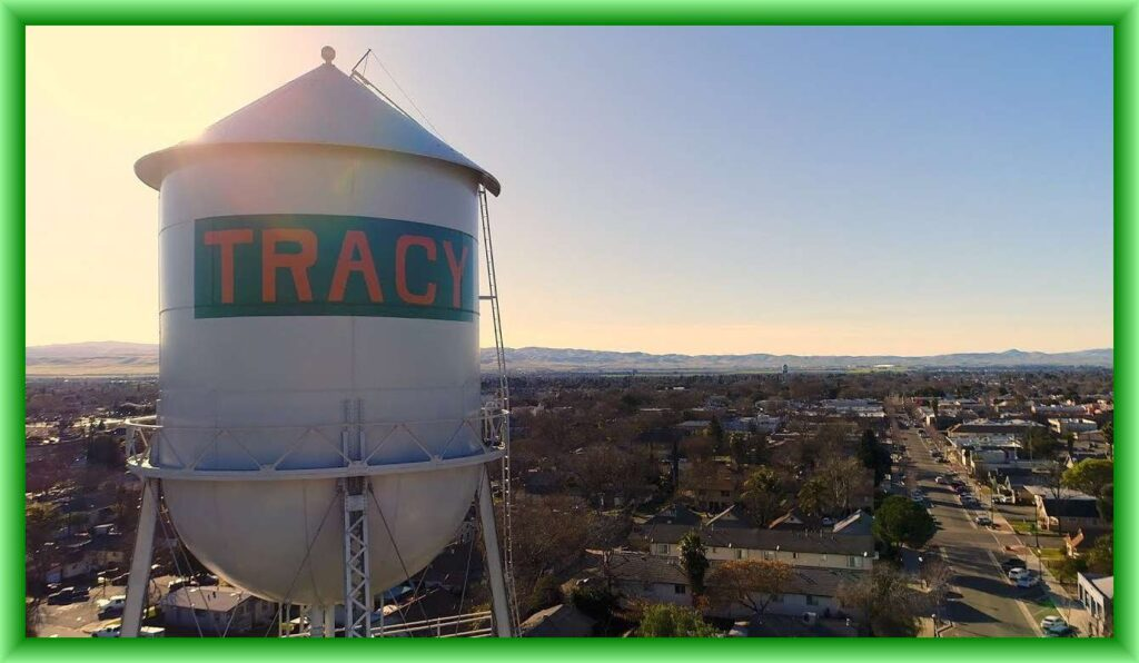 Tracy Water Tower